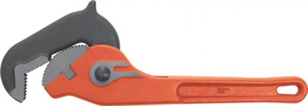 Ключ разводной трубный, быстрая работа, 250 мм.